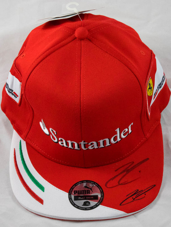 Kimi Raikkonen l Signed 2017 Ferrari Drivers Cap
