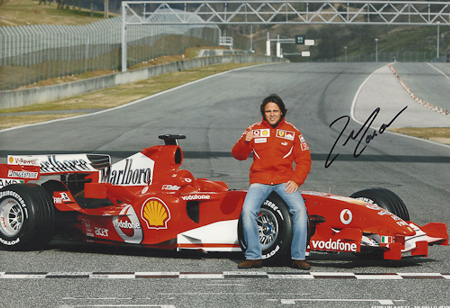 Felipe Massa Signed Photograph Launch 2006