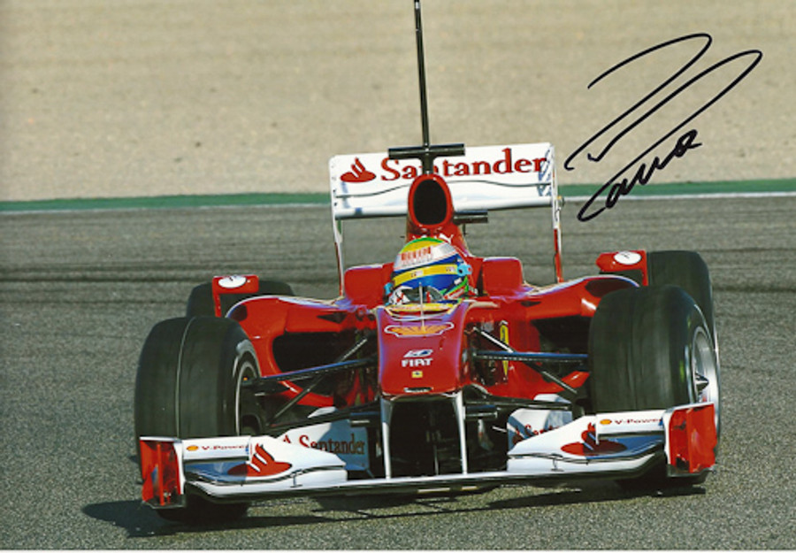 Felipe Massa Signed Photograph 2010