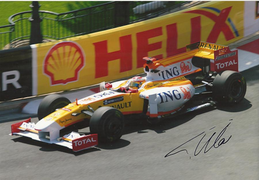 Fernando Alonso Signed Photograph Monaco 2009