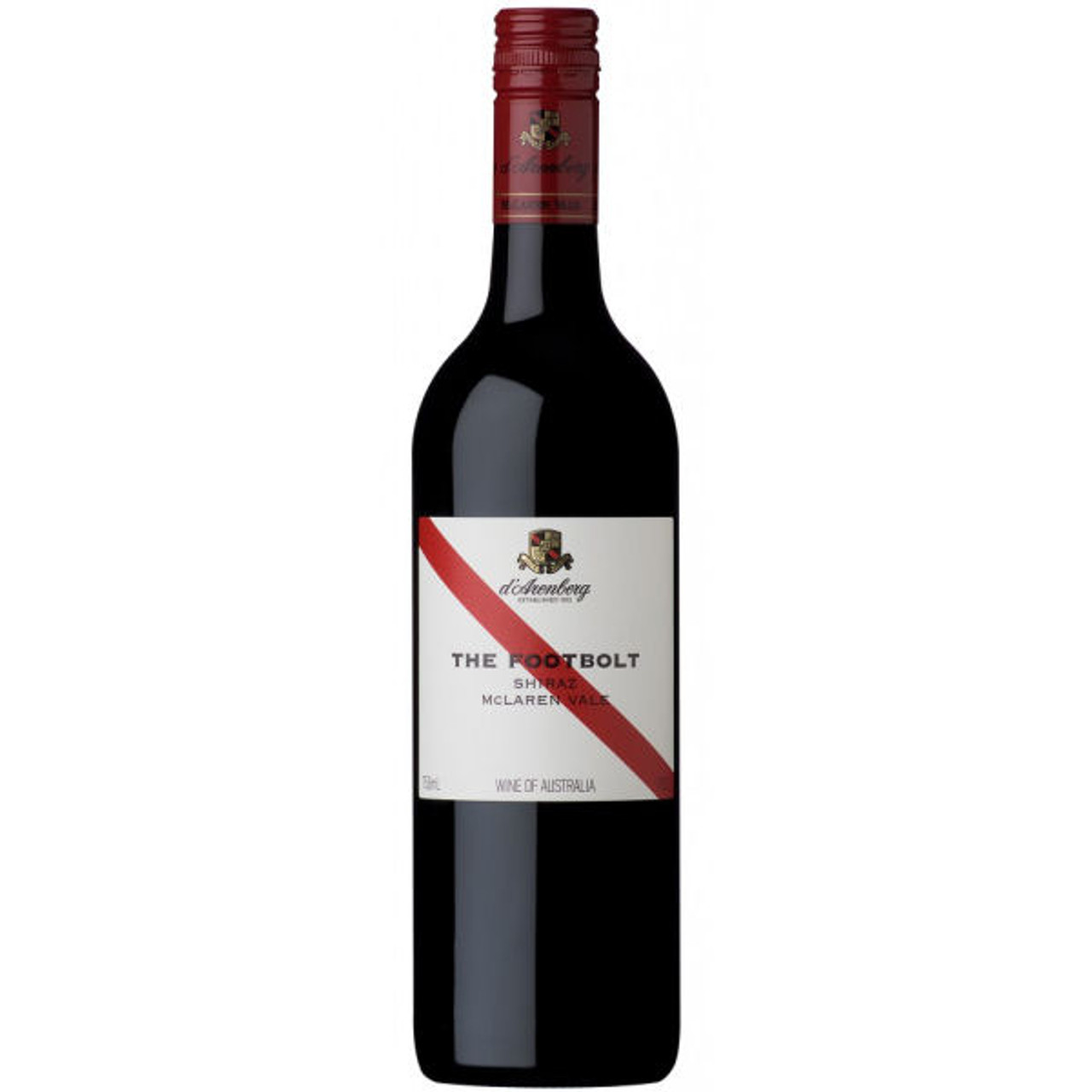 d'Arenberg McLaren Vale The Footbolt Shiraz 2013 Rated 91WE EDITORS CHOICE