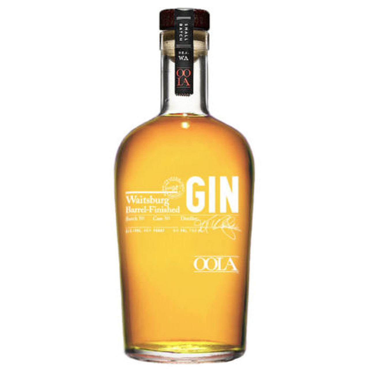 OOLA Waitsburg Barrel Finished Gin 750ml