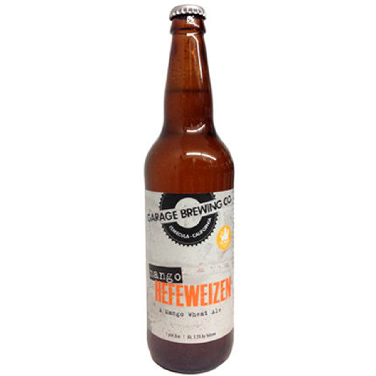 Garage Brewing Mango Hefeweizen 22oz