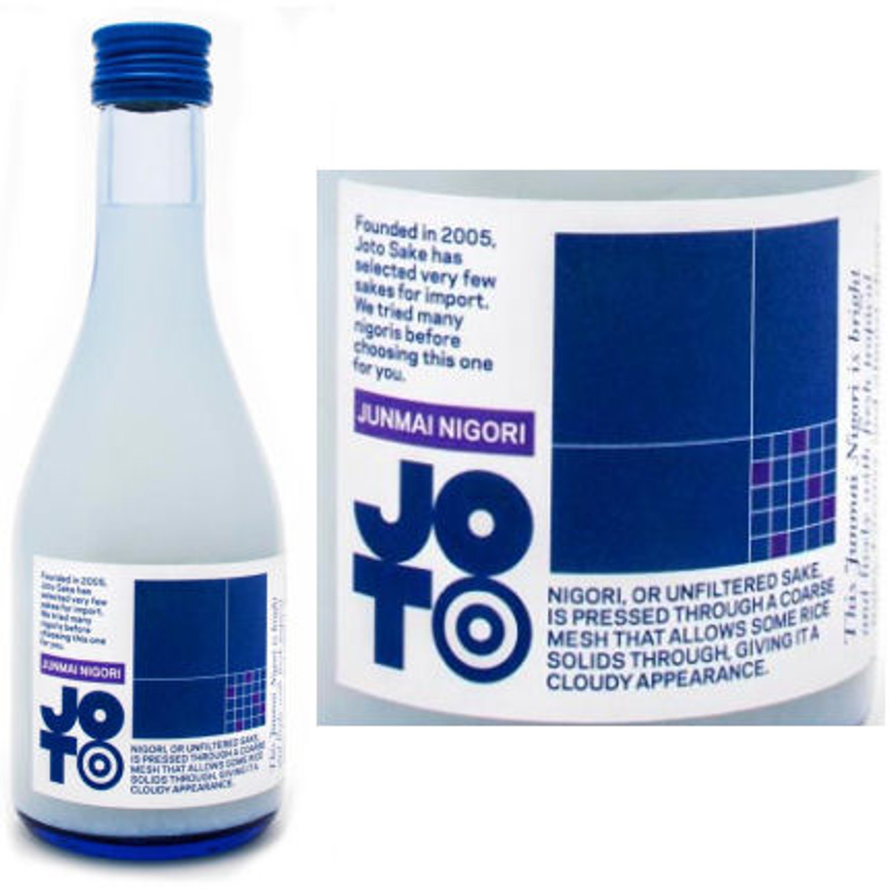 Joto The Blue One Junmai Nigori Sake 300ml