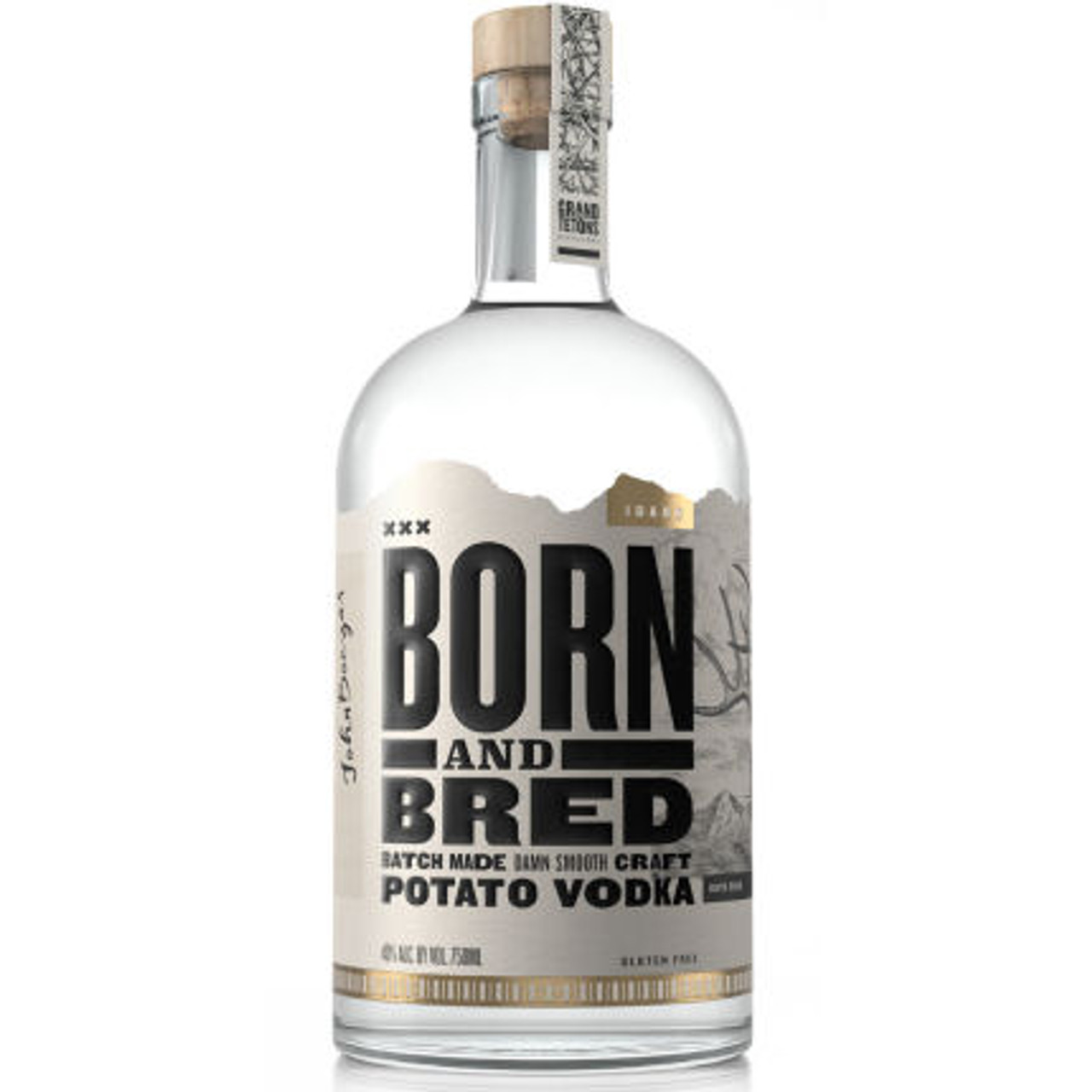 Born and Bred Batch Made Craft Idaho Potato Vodka 750ml