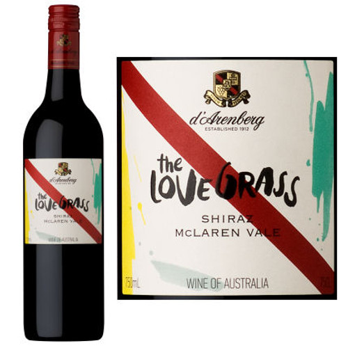 d'Arenberg The Love Grass McLaren Vale Shiraz