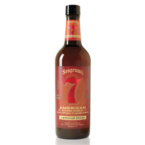 Seagram's 7 Crown Spiced American Blended Whiskey 750ml
