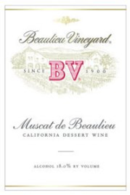 Beaulieu Vineyards California Muscat NV 375ML Half Bottle