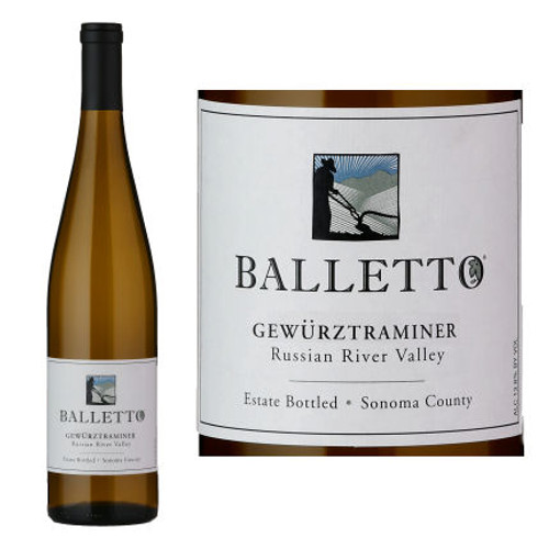 Balletto Russian River Gewurztraminer