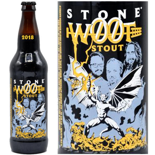 Stone Brewing WØØtstout 2018 22oz