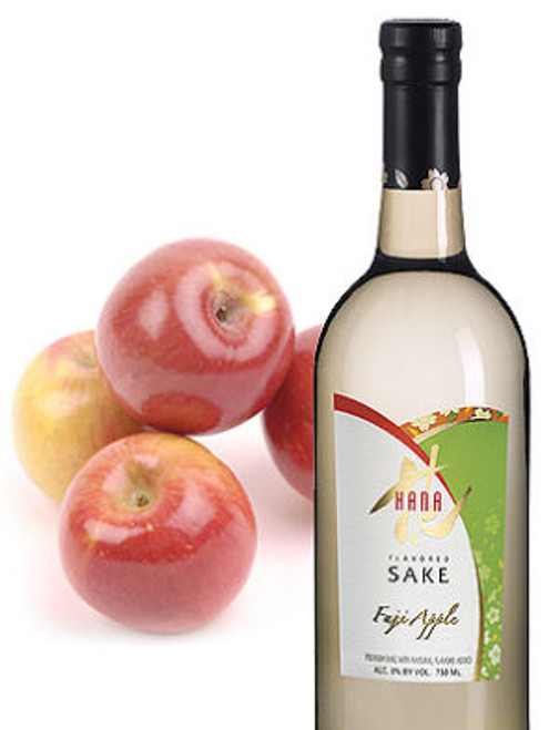 Hana Fuji Apple Flavored Sake (Kosher)