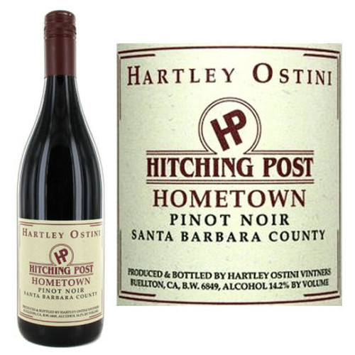 Hartley Ostini Hitching Post Hometown Santa Barbara Pinot Noir