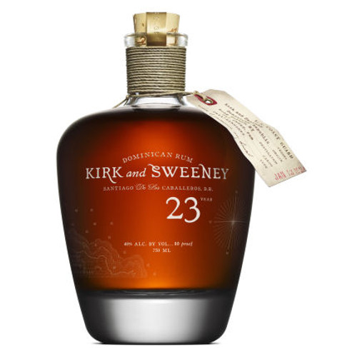 Kirk and Sweeney 23 Year Old Dominican Rum 750ml