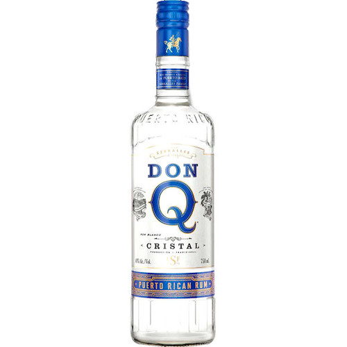 Don Q Cristal Puerto Rican Rum 750ml