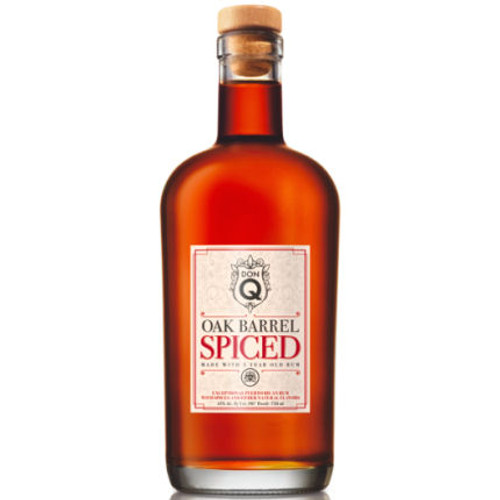 Don Q Oak Barrel Spiced Puerto Rican Rum 750ml