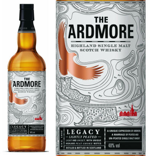 Ardmore Legacy Highland Single Malt Scotch 750ml