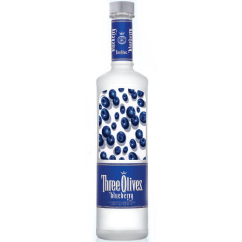 Three Olives Blueberry Vodka 750ml
