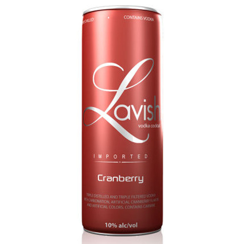 Lavish Cranberry Vodka Cocktail Can 355ml
