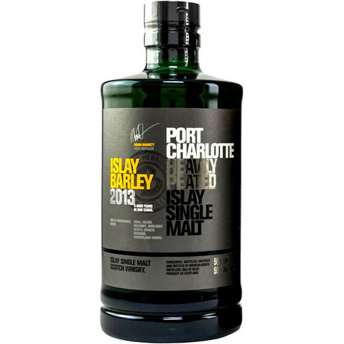 Bruichladdich Port Charlotte Scottish Barley Islay Single Malt Scotch 750ml