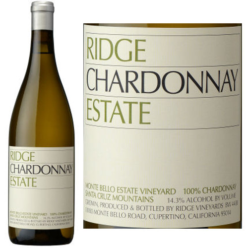 Ridge Estate Monte Bello Vineyard Chardonnay