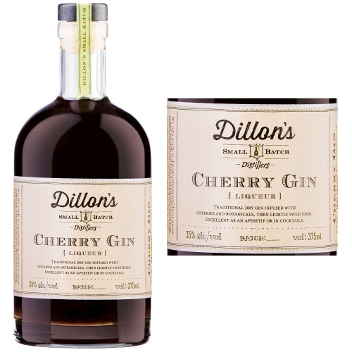 Dillon's Small Batch Cherry Gin Liqueur 375ml