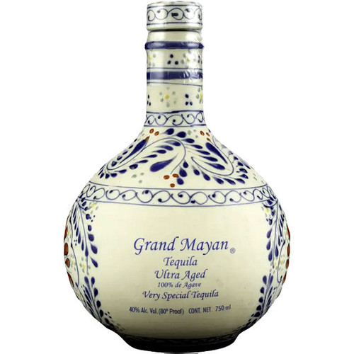 Grand Mayan Ultra Aged 3 Year Old Anejo Tequila 750ml