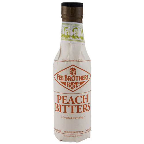 Fee Brothers Peach Bitters 5oz.