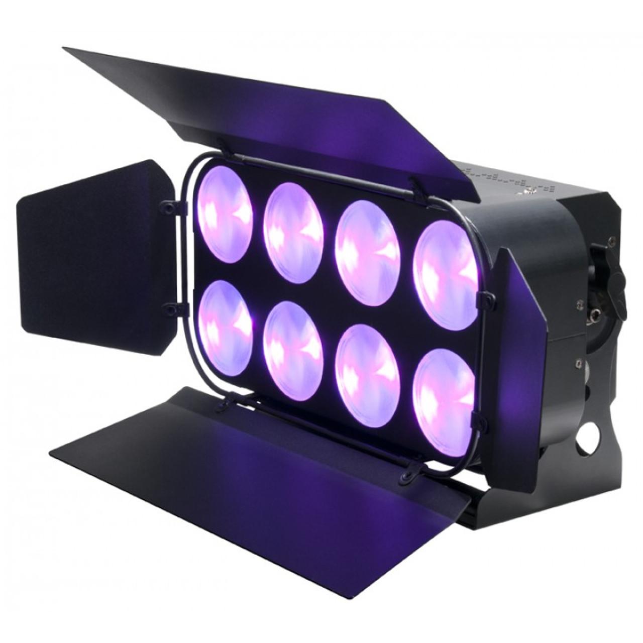 american dj adj dotz panel 2 4 wash blinder led light fixture 2 x
