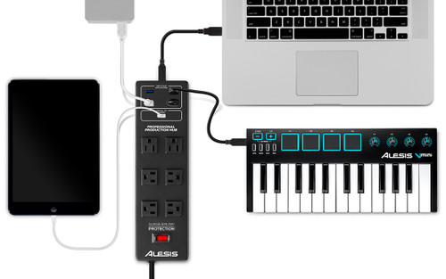 alesis powertrip usb gearclubdirect Instruction Manual Example User Guide Icon