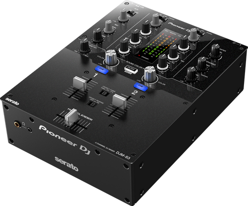 Pioneer DJ DJM-S3 2-Channel mixer for Serato DJ