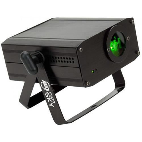 American DJ ADJ Micro Sky Laser Light Projector   Green Laser Light Shows  With A Liquid