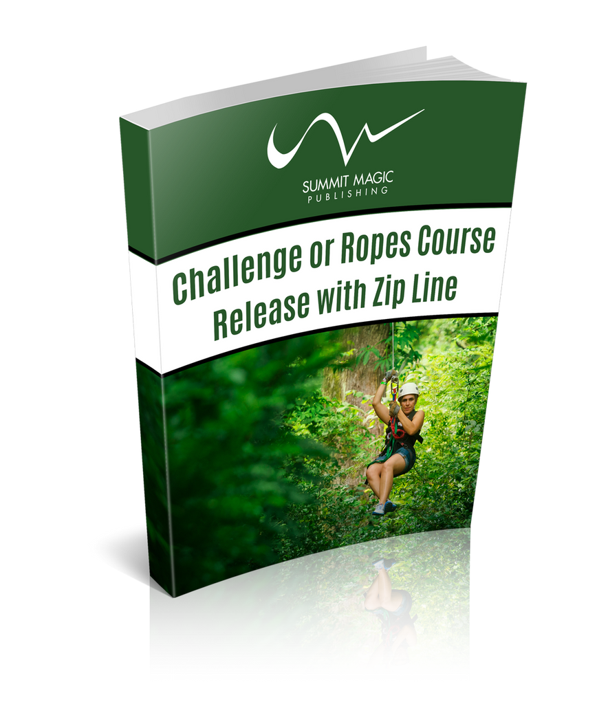 Challenge or Ropes Course Release with a Zip Line