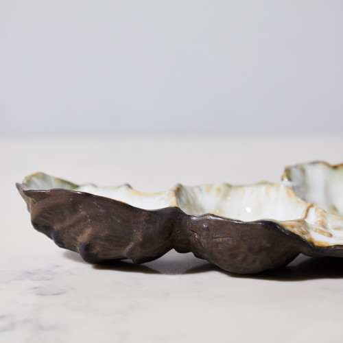 Oyster Cluster Dish by Kiss That Frog