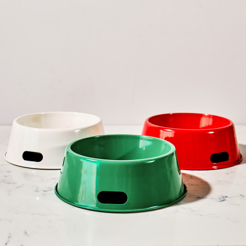 Enamel Dog Bowl by Harry Barker