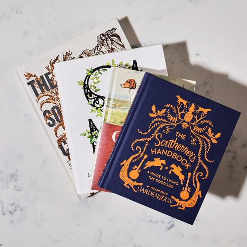 Collection of Garden & Gun Books