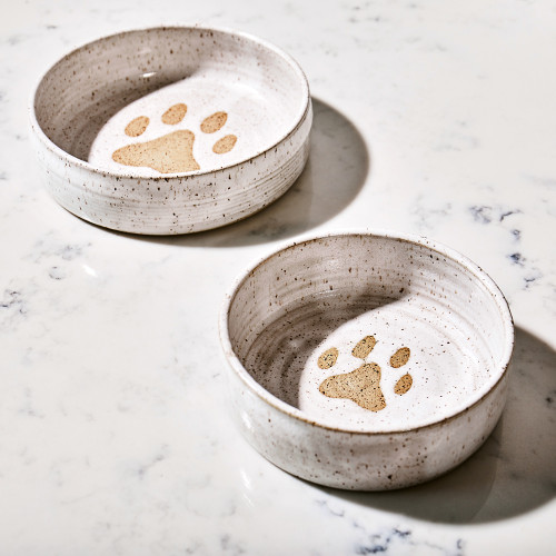Ceramic Dog Bowl by Mollie Jenkins Pottery
