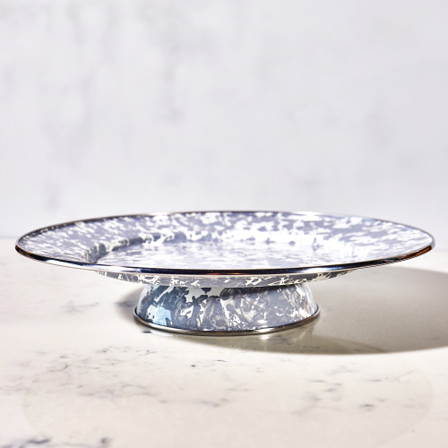 Cake Plate & Dome by Golden Rabbit