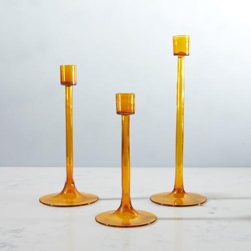 Candleholder by Terrane Glass