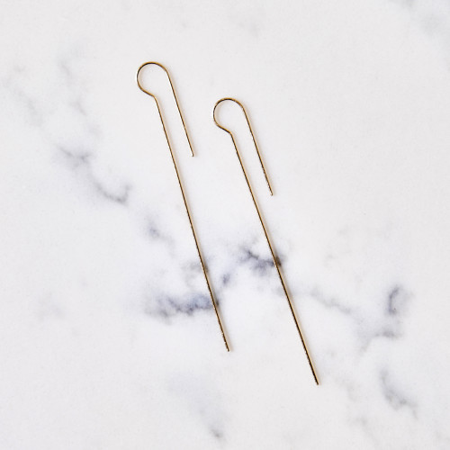 French Hook Earrings by Hannah Keefe