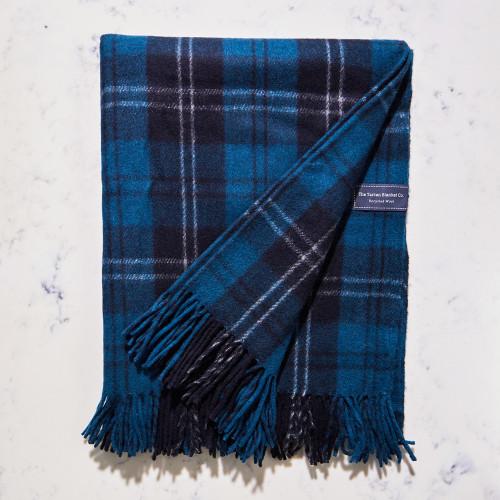 Recycled Wool Blanket in Ramsay Tartan by The Tartan Blanket Co.