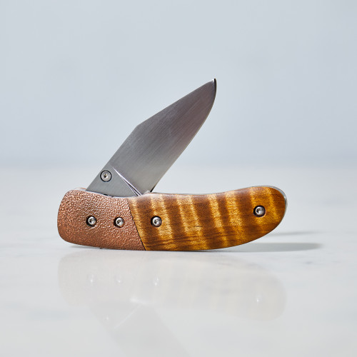 Copper Pocket Knife by Tony Miller