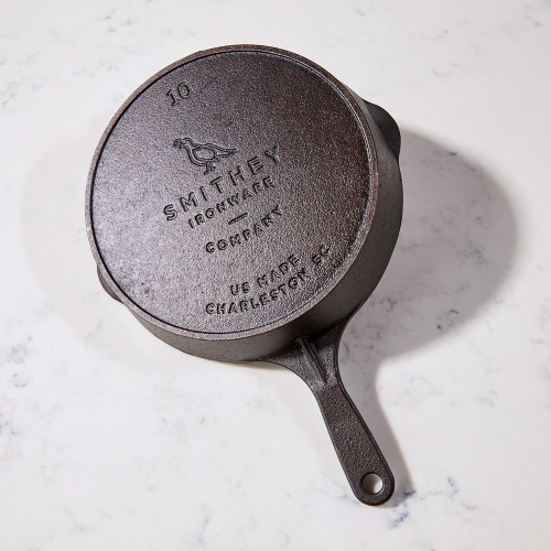 No. 10 Cast Iron Skillet by Smithey Ironware