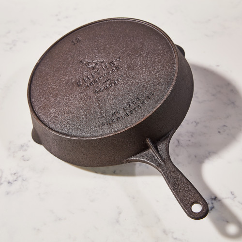 No. 12 Cast Iron Skillet by Smithey Ironware