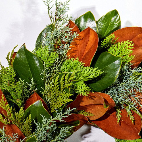 Fresh Bunches Wreath by The Magnolia Company
