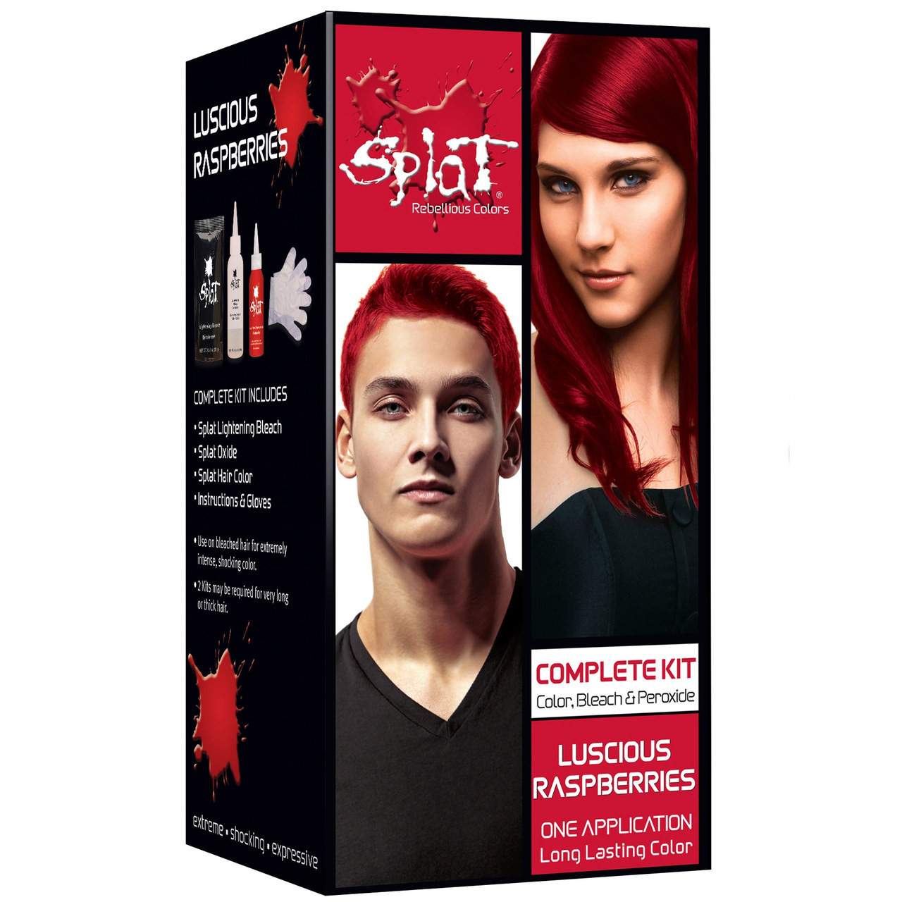 Splat Rebellious Colors Semi Permanent Hair Dye Luscious