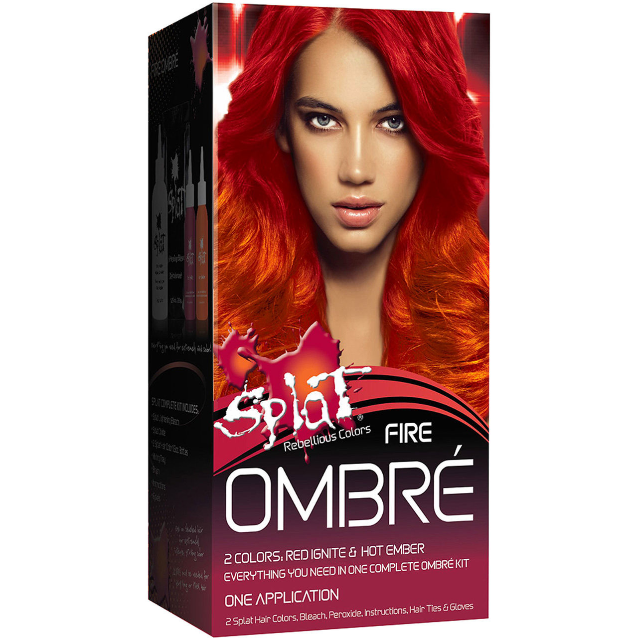 Splat Rebellious Colors Semi Permanent Hair Dye Fire Ombre Btybox