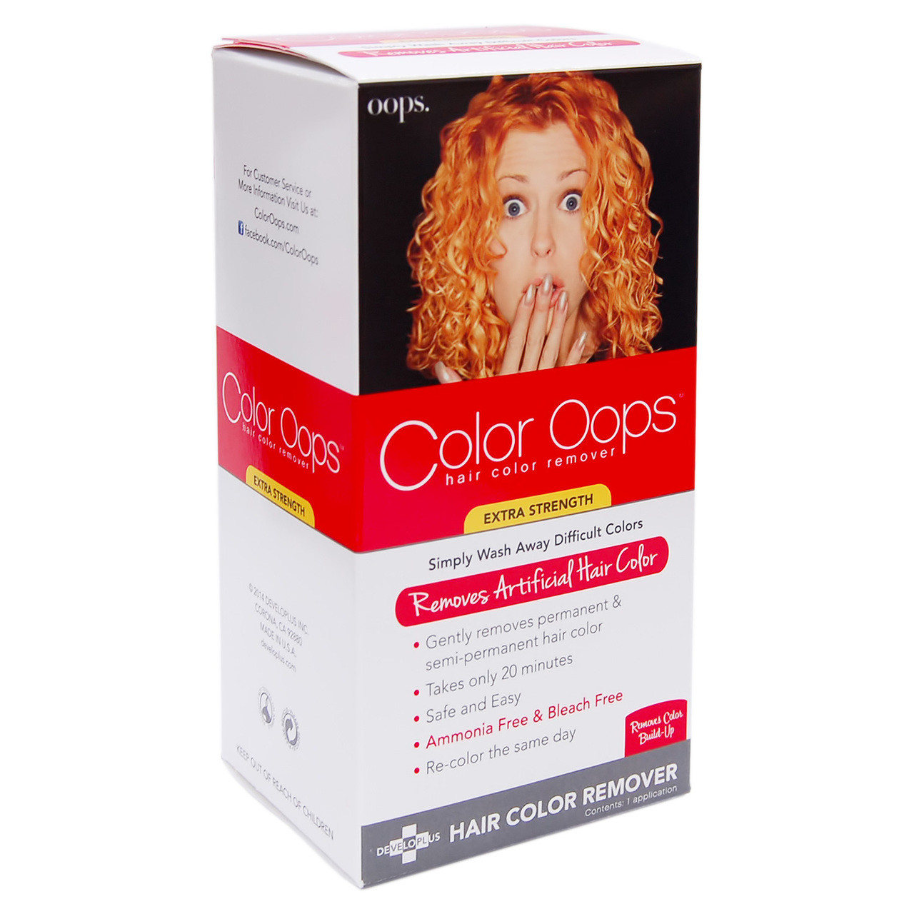 Color Oops Hair Color Remover Extra Strength Btybox