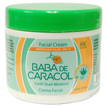 Baba De Caracol Earth Snail Moisture Facial Cream SPF 15, 3.5 oz