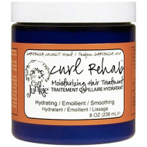 Curl Junkie Curl Rehab Moisturizing Hair Treatment, Gardenia-Coconut Scent 8 oz