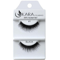 Kara Human Hair Eyelashes #001